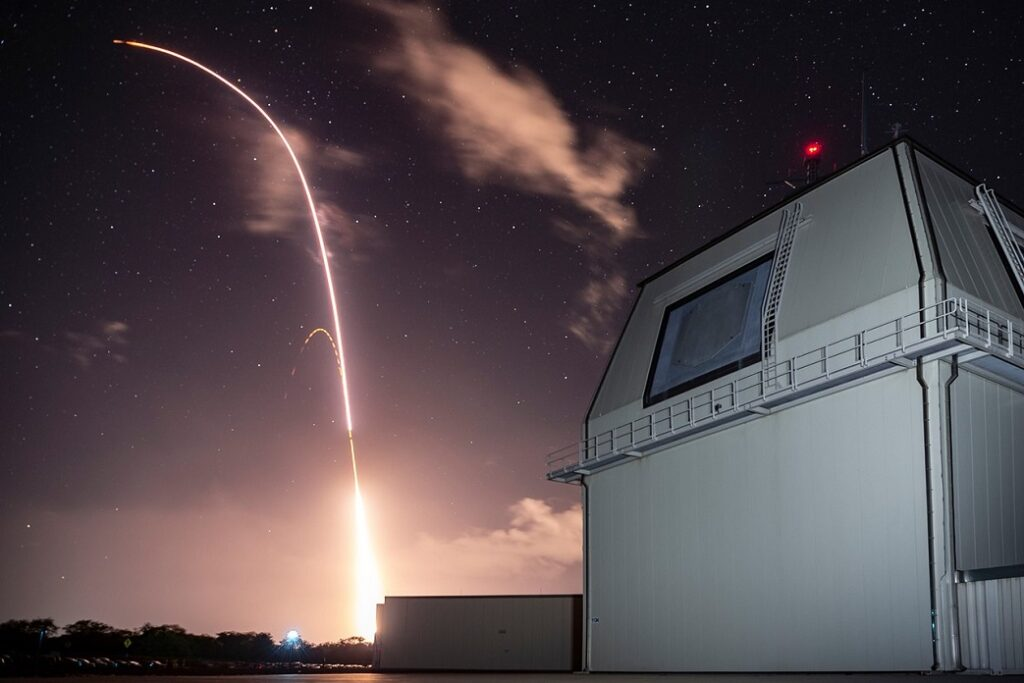 sm 3 block iia launched from the aegis ashore missile defense test complex at hawaii - naval post- naval news and information
