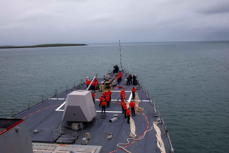 U.S.-led ASW Exercise Shark Hunt 21 kicks off in the Northern Atlantic