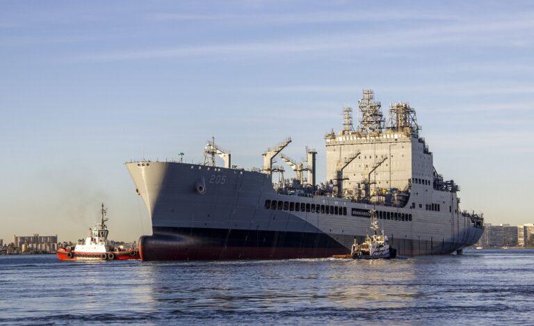 U.S. Navy Christens the 1st Ship in the T-AO Fleet Oiler Program