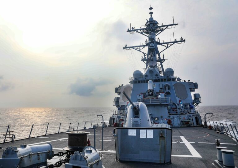Chinese military monitors USS Benfold's transit in Taiwan Strait