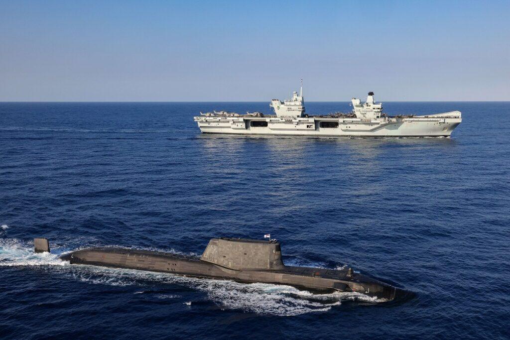 carrier strike group 21 51315457425 o - Naval Post
