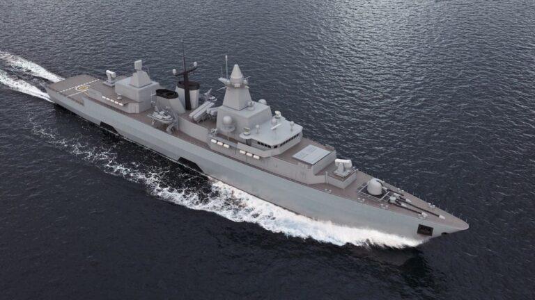 Saab receives order to modernise German Navy's F123 frigates