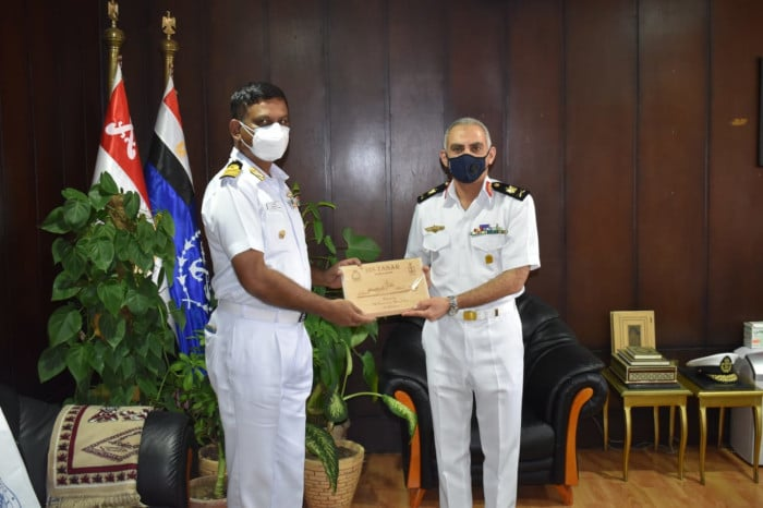 ins tabar alexandria visit - naval post- naval news and information