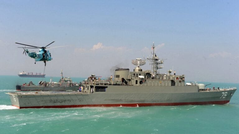 Iranian Navy conducts exercise in the Caspian Sea