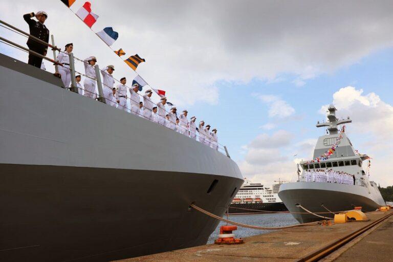 Thyssenkrupp delivers last 2 Sa'ar 6 corvettes to Israeli Navy