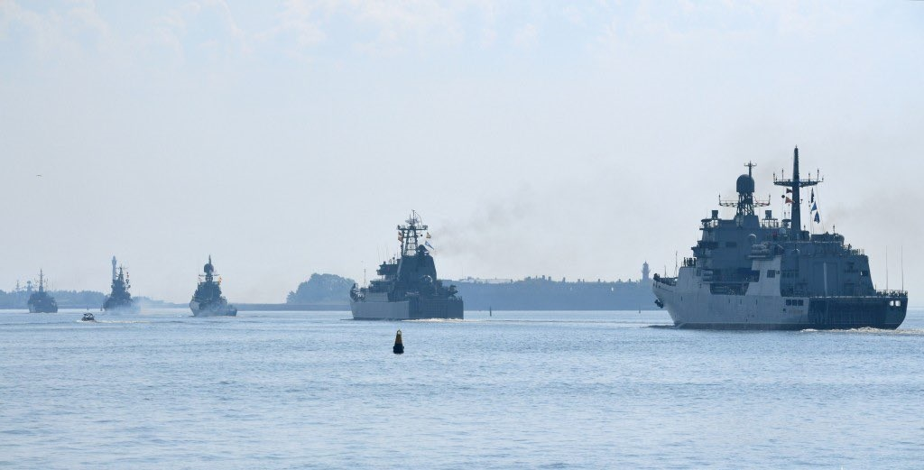 russian naval parade - naval post- naval news and information
