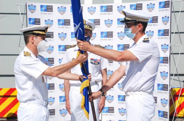 Spain assumes the command of the NATO MCM group SNMCMG2