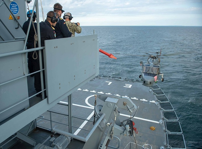 NATO Mine Countermeasure Group completes mine hunting operation in Germany