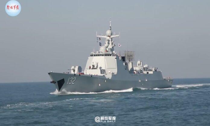 PLA Navy's 4th Type 052DL destroyer Suzhou