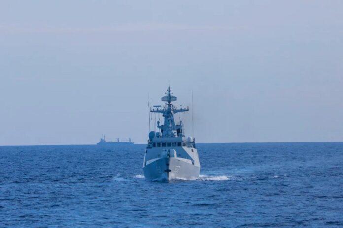 China patrol corvette
