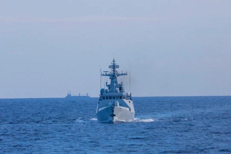 China and Vietnam navies conduct joint patrol in Beibu Gulf