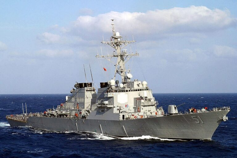 USS Arleigh Burke begins the 1st FDNF-E Patrol mission in Rota