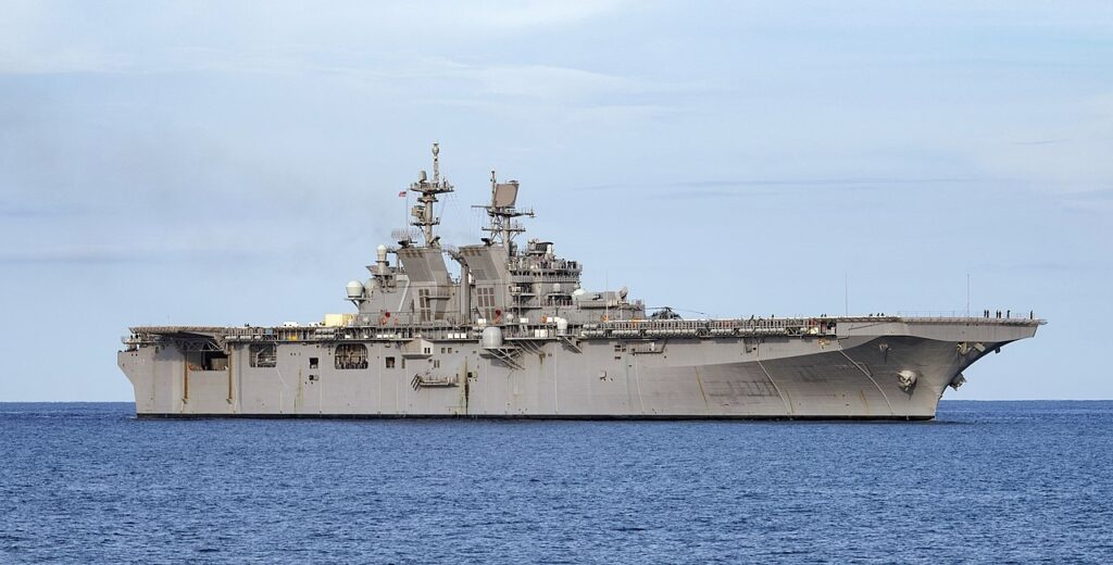 1280px uss tripoli lha 7 underway in the caribbean sea on 3 august 2020 200730 n cd453 1035 - naval post- naval news and information