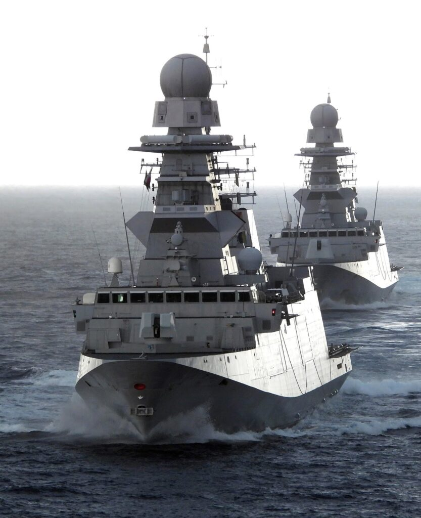 bergaminis in formation - naval post- naval news and information