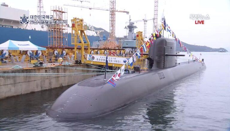 South Korean Navy commissions 1st Changbogo-III Batch-I class submarine
