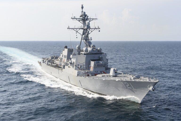 HII completes the shipbuilder trials of Frank E. Petersen Jr. (DDG 121)