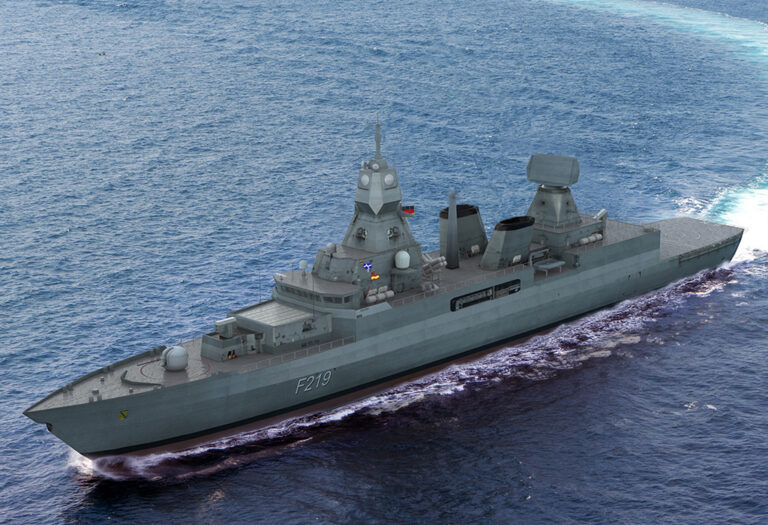 HENSOLDT to equip German F124 frigates BMD capable radars