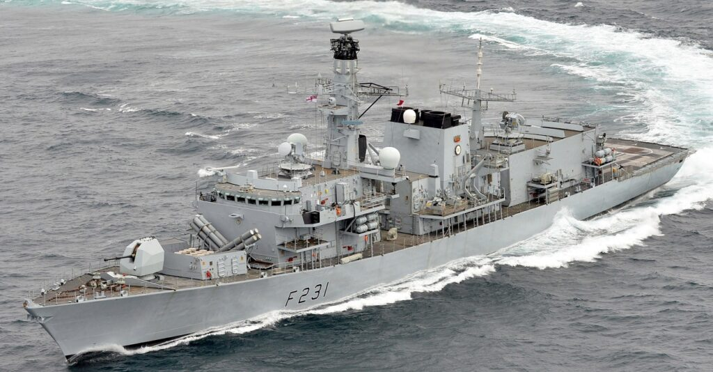 f231 hms argyll 005 - naval post- naval news and information