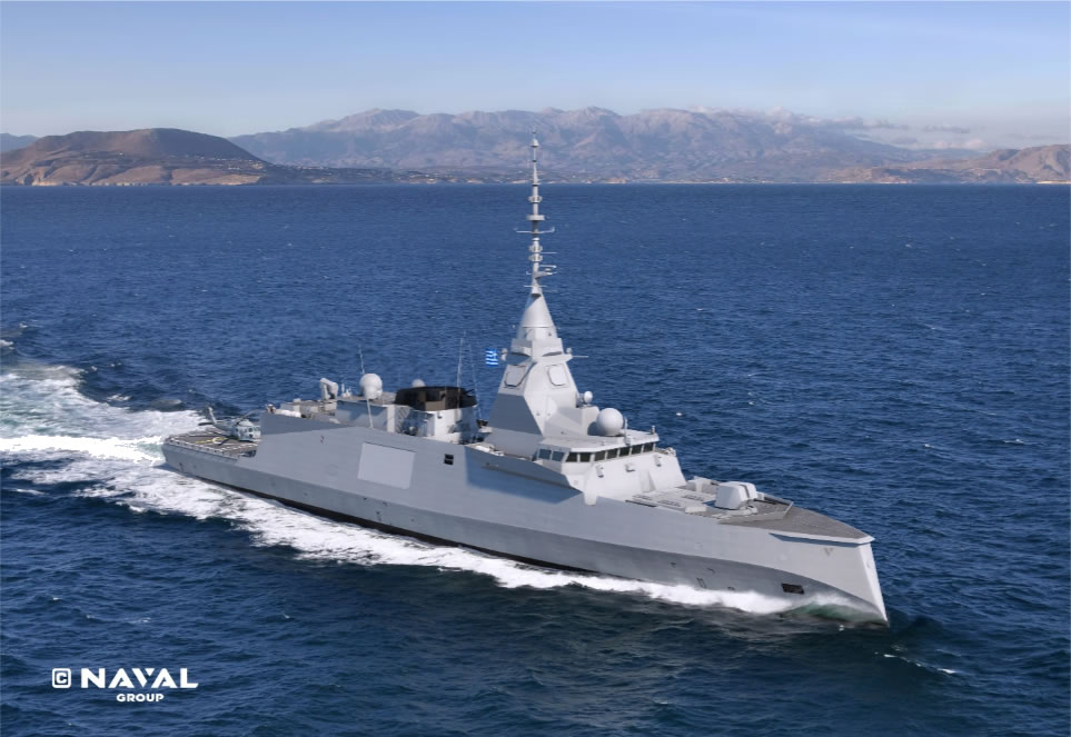 greece fdi hn with strales naval group - naval post- naval news and information