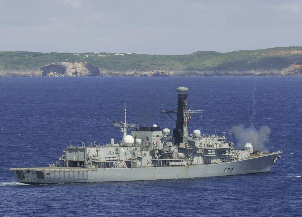 hms kent - naval post- naval news and information