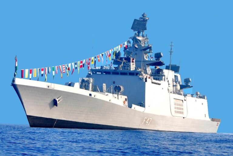 Indian Navy Ships on Overseas Operational Deployment