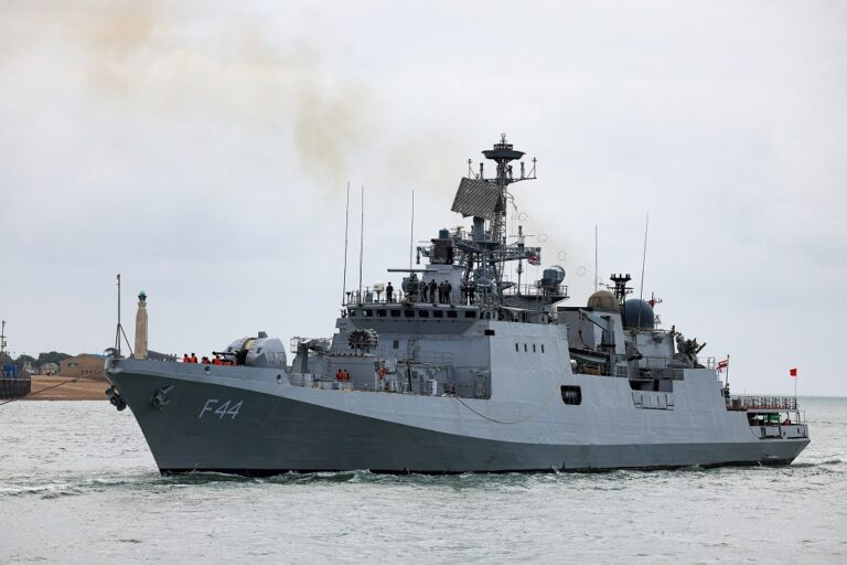 Indian frigate INS Tabar visits Portsmouth ahead of workout with Royal Navy