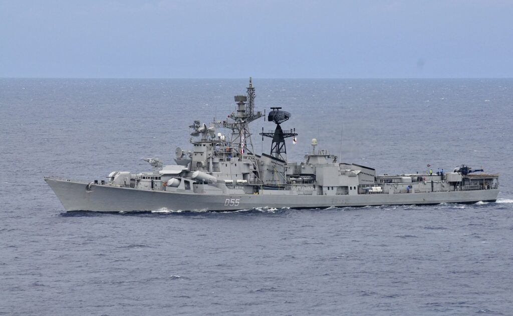 ins ranvijay at annual bi lateral naval field training exercise - naval post- naval news and information