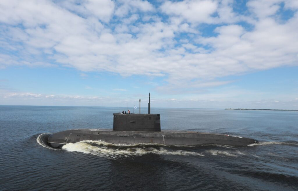 improved kilo class submarine - naval post- naval news and information