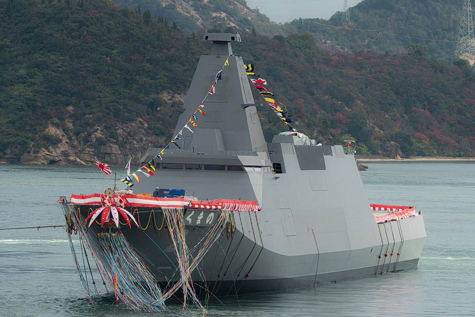 japan launches its second 30ffm frigate kumano for japanese navy 925 001 - naval post- naval news and information