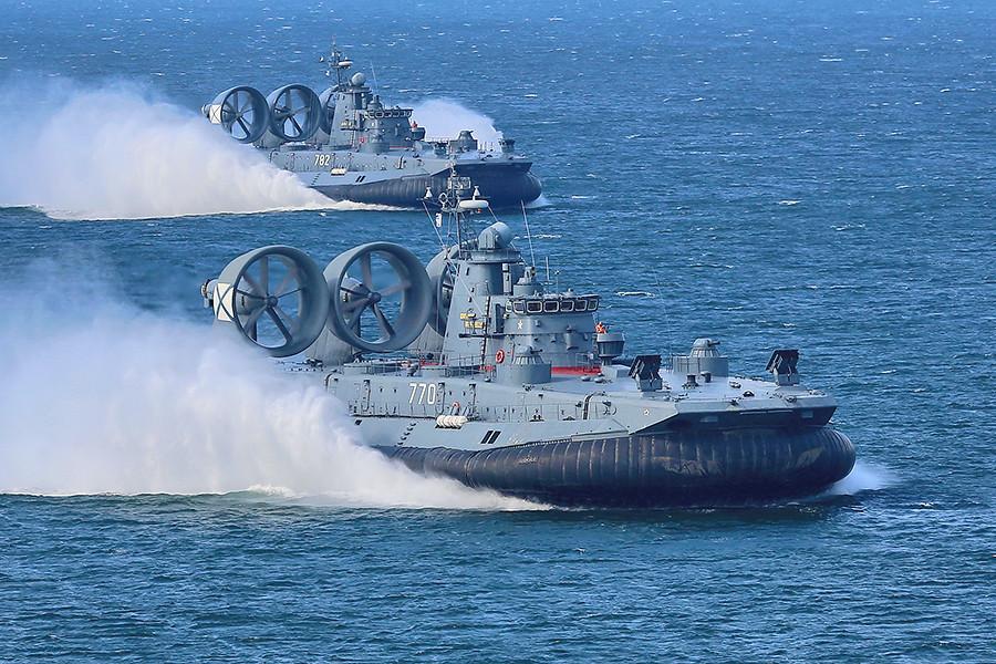 mordovia and yevgeniy kocheshkov landing in kaliningrad oblast - naval post- naval news and information