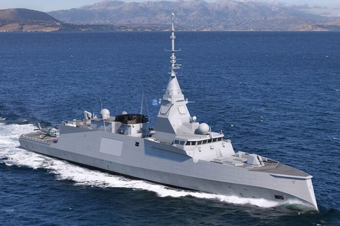 FDI frigate