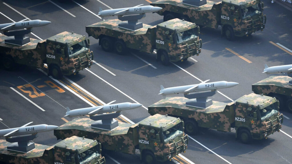 the yj-18 anti-ship missile. source: pla