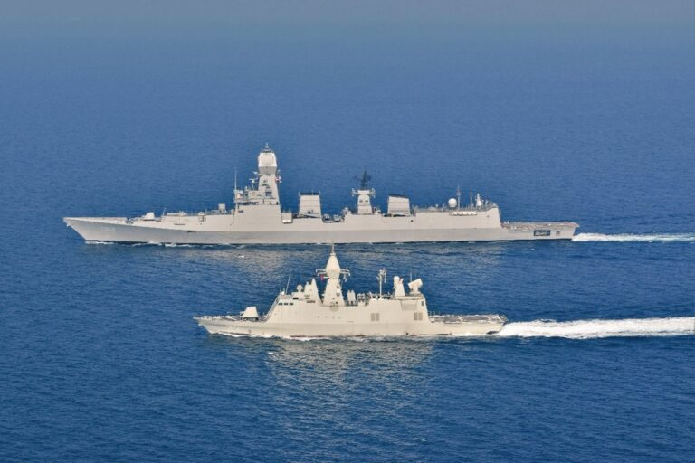 Indian Navy conducts Zayed Talwar 2021 exercise with UAE Navy