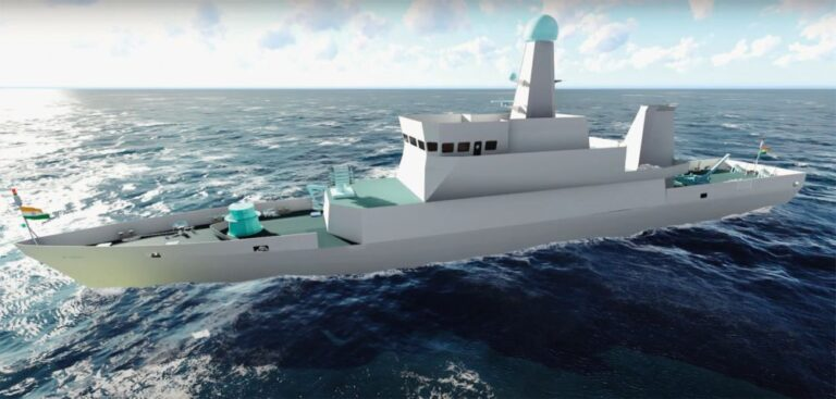 India's GRSE lays keel of ASW Shallow Water Craft