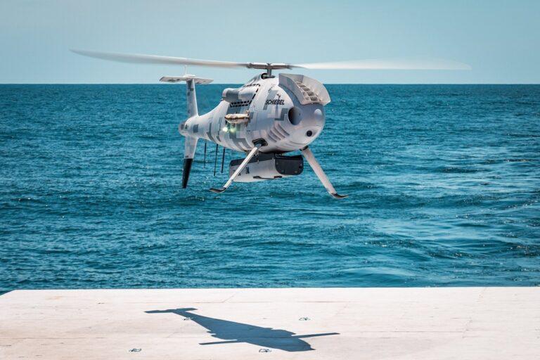 U.S. Navy completes trials of Schiebel's Camcopter S-100 UAS