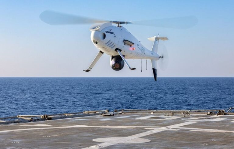 Hellenic Navy completes trials of Camcopter S-100 UAS
