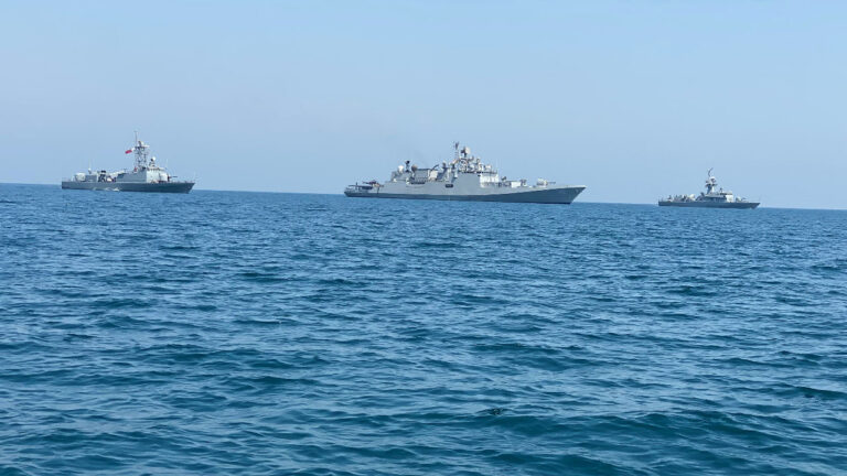 India and Qatar Conduct Exercise Zair Al Bahr in the Persian Gulf
