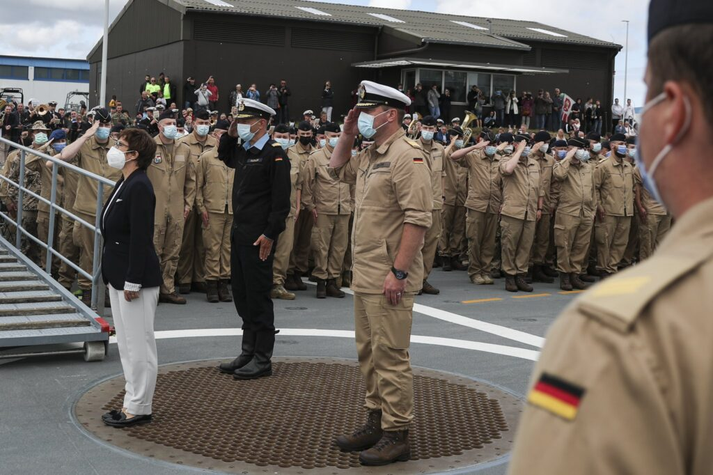 fgs bayern departure - naval post- naval news and information
