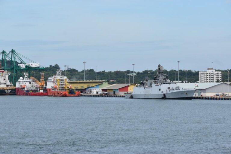 Indian Navy Ships visit Brunei before Malabar-21 exercise