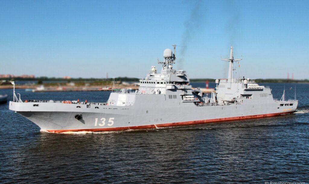 russian navy's project 11711 class landing ship