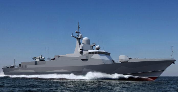 Project 22800E (Karakurt-E) Class Corvette