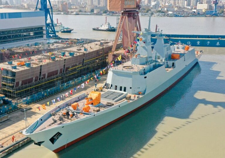 China launches 3rd Type 054 frigate for Pakistan