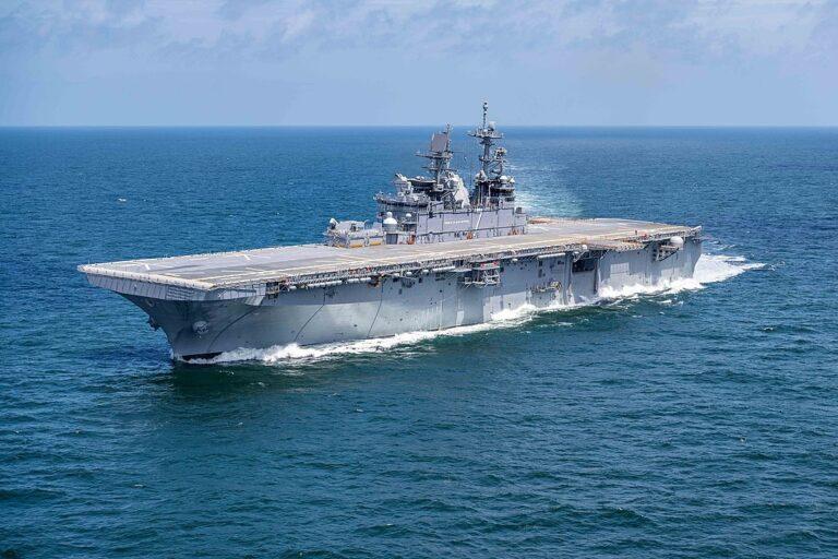 USS Tripoli completes final contract trials
