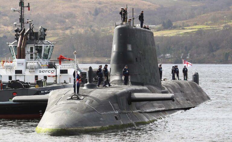 Royal Navy commissions 4th Astute-class submarine, HMS Audacious