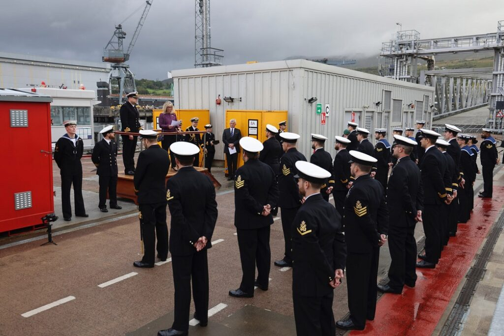 20210923 hms audacious commissioning 6 - naval post- naval news and information