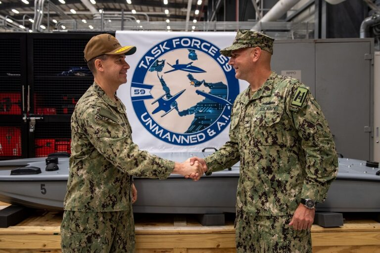 U.S. 5th Fleet Launches New Task Force to Integrate Unmanned Systems