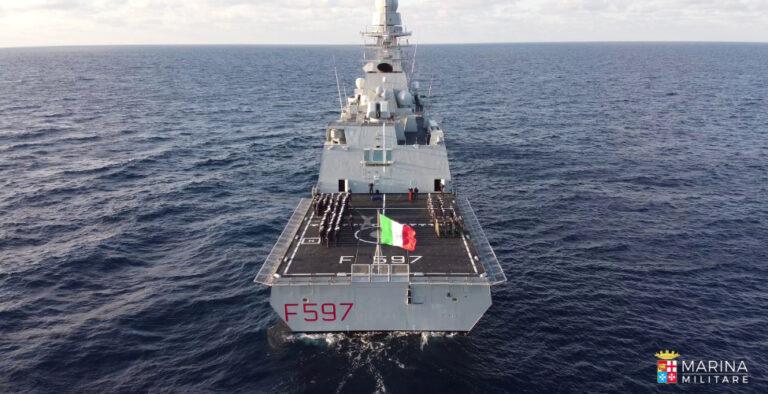 Italy Sends frigate Antonio Marceglia to the Gulf of Guinea for Counter-Piracy Operations
