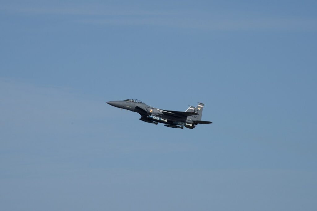 f15 carrying jdam - naval post- naval news and information