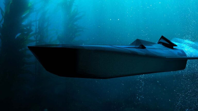 Royal Navy's future vision based on unmanned technology