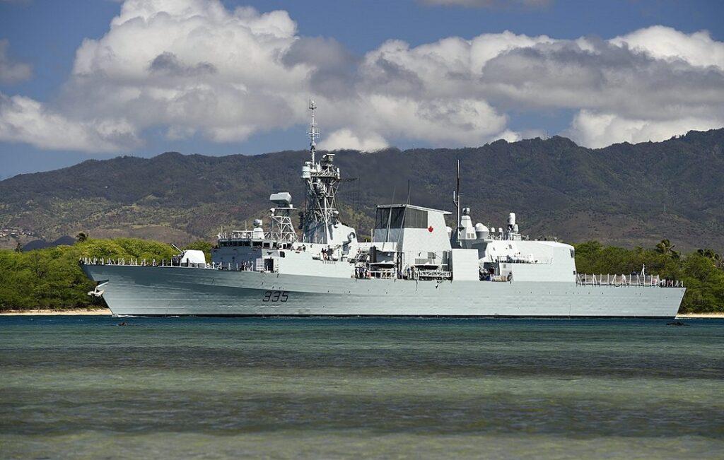 hmcs calgary ffh 335 - naval post- naval news and information